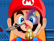 Play Mario Head Injury Game