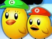 Play Mario Super Chick Sisters Game