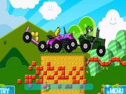Play Mario Tractor 2 Player Game
