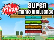 Play Super Mario Bros Challenge Game