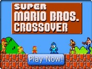 Play Super Mario Bros Crossover Game