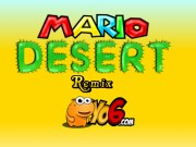Play Super Mario Desert Adventure Remix Game