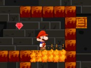 Play Super Mario Fire Cave Adventure Game