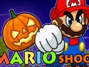 Play Super Mario Halloween Shoot Pumpkin Game