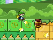 Play Super Mario : Luigi Go Adventure Game