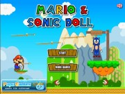 Play Super Mario Rescue Sonic Doll Game