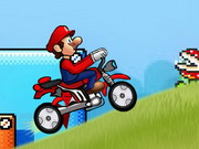 Play Super Mario Speed Bike Game